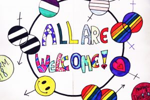 Gay Straight Alliance Club welcomes all to weekly Thursday meetings in Room 118