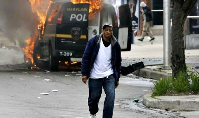 Gray's Death Causes Riots in Baltimore