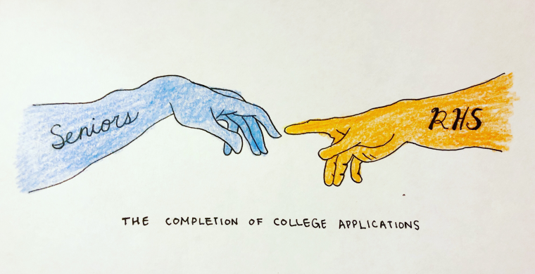 How RHS Guides Seniors Through the Application Process – RHS High Times