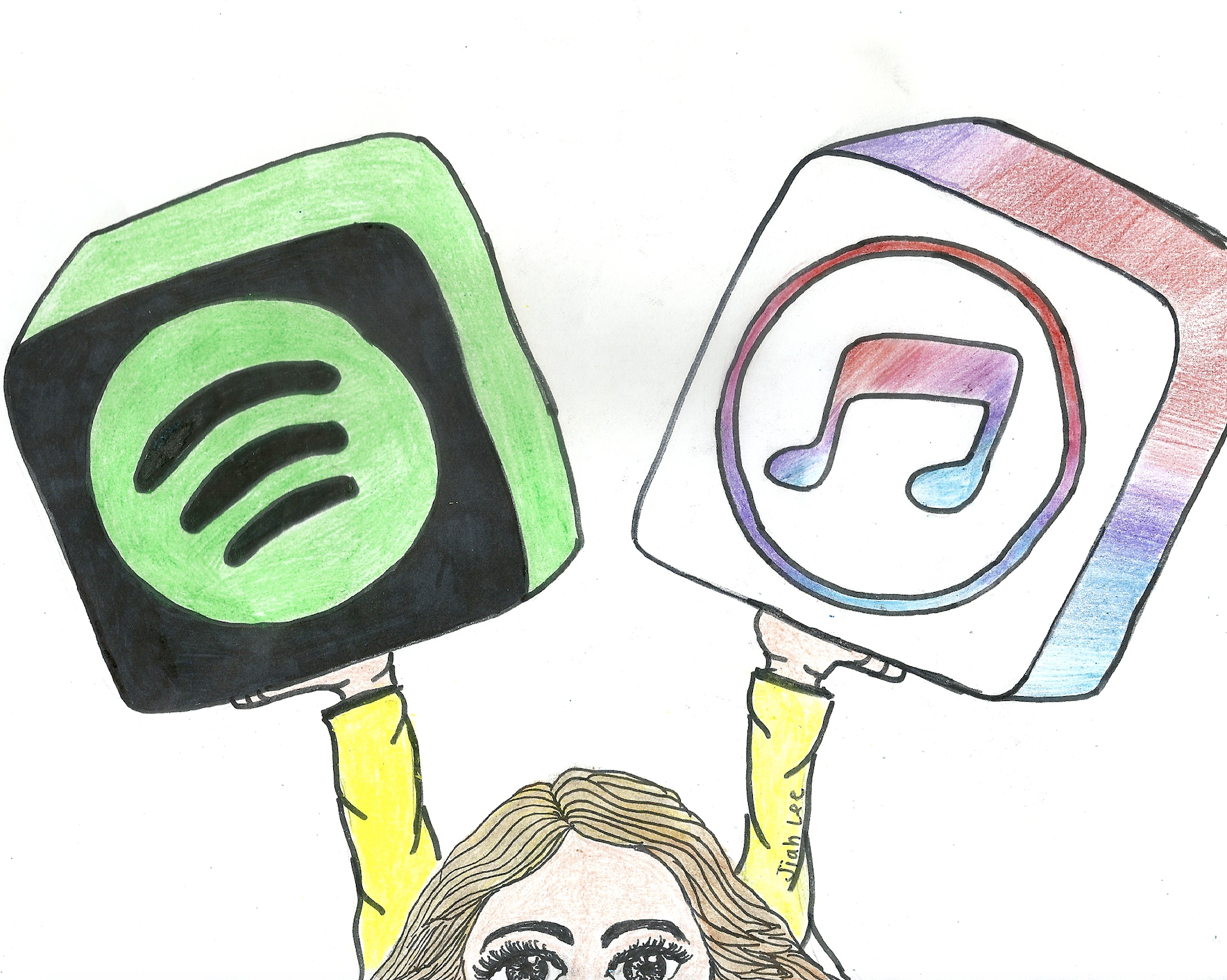 Spotify v. Apple Music