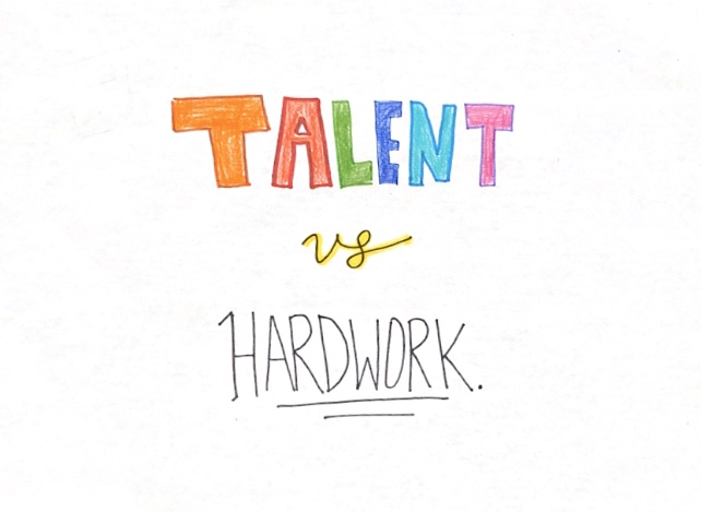 What Matters More: Talent or Hard Work?