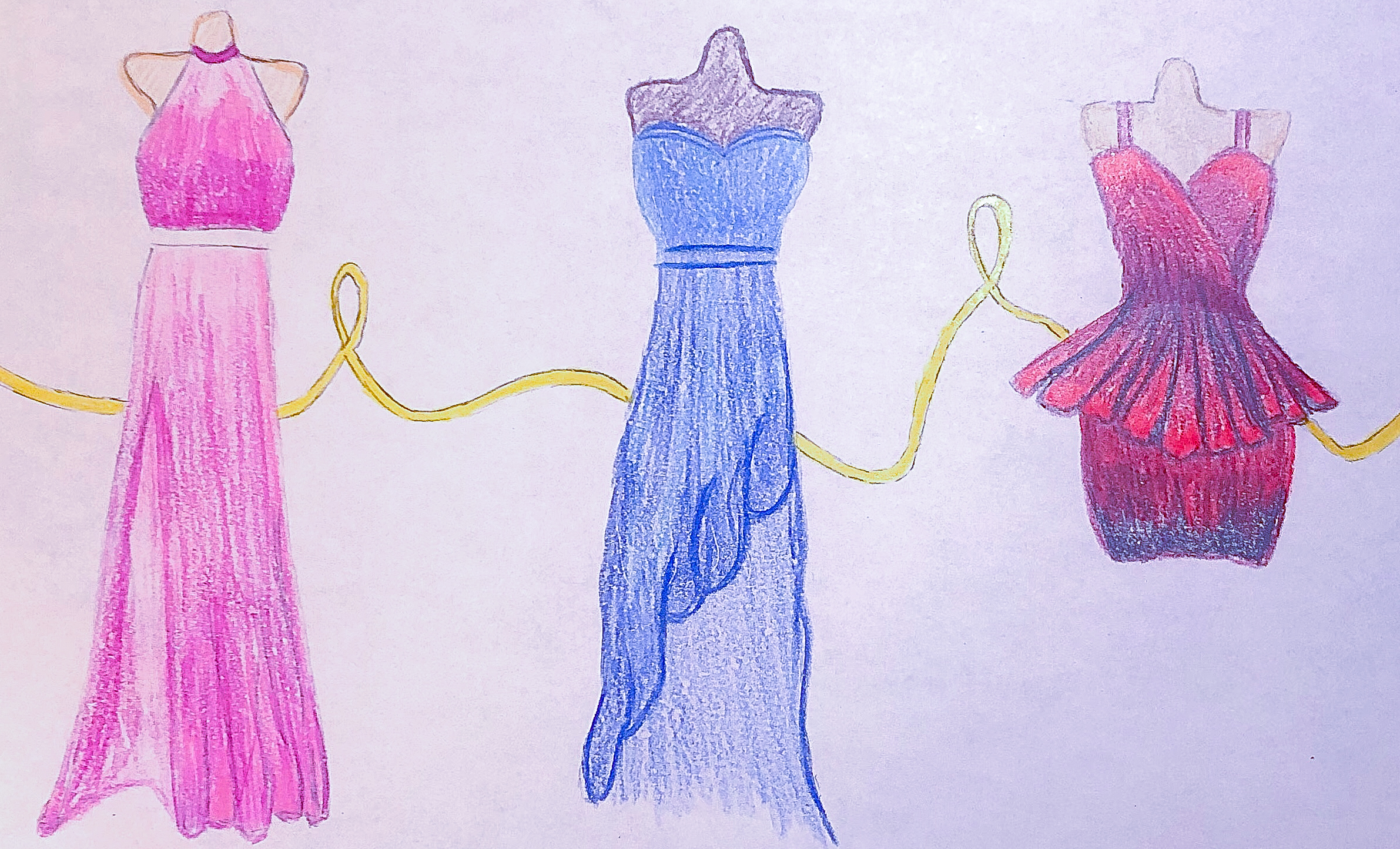 Prom Dresses Throughout Time