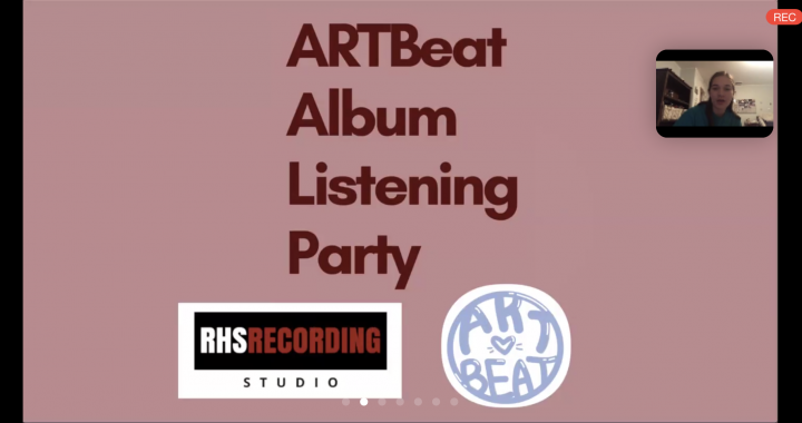 The ARTBeat/RHS Recording Studio Virtual Listening Party
