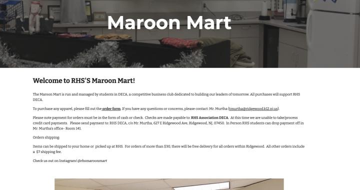 Maroon Mart Grand Reopening