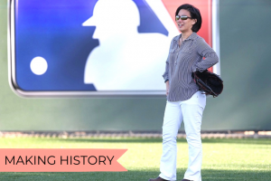RHS Alumni Kim Ng's Historic Milestone in Sports