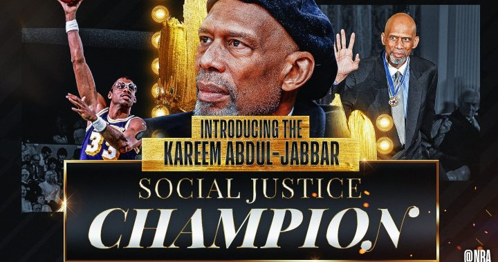Impacts of the NBA Social Justice Award